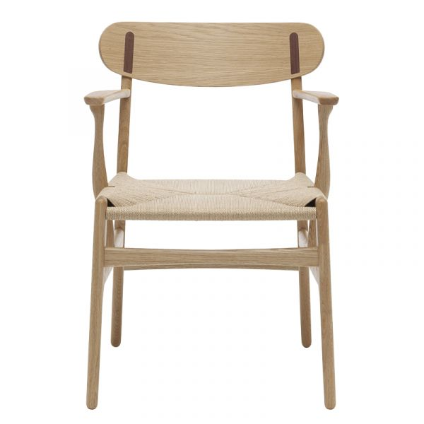 Carl Hansen CH26 Dining Chair Natural Paper Cord