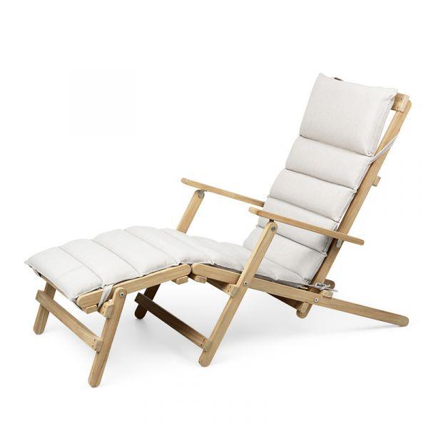 Carl Hansen BM5565 Deck Chair With Footrest