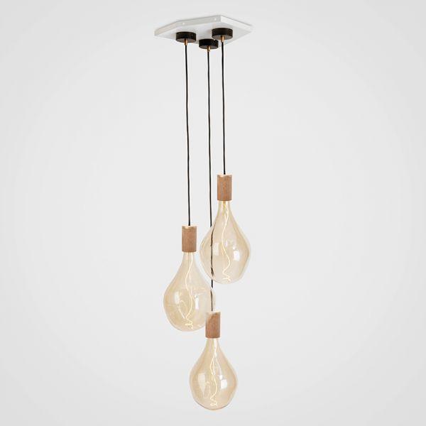 Tala Voroni III Oak Pendant Light