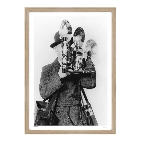 Donald Innes With Camera