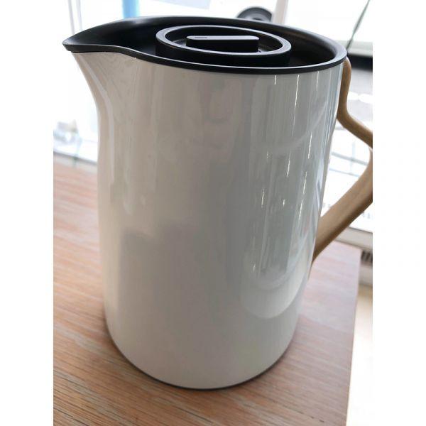 Stelton Emma Vacuum Jug Tea 1Ltr Blue White Damaged Was £99.95 Now £49