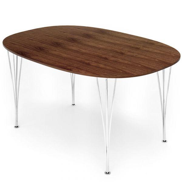 Fritz Hansen B614 Super-Elliptical Table Span Legs 240x120cm