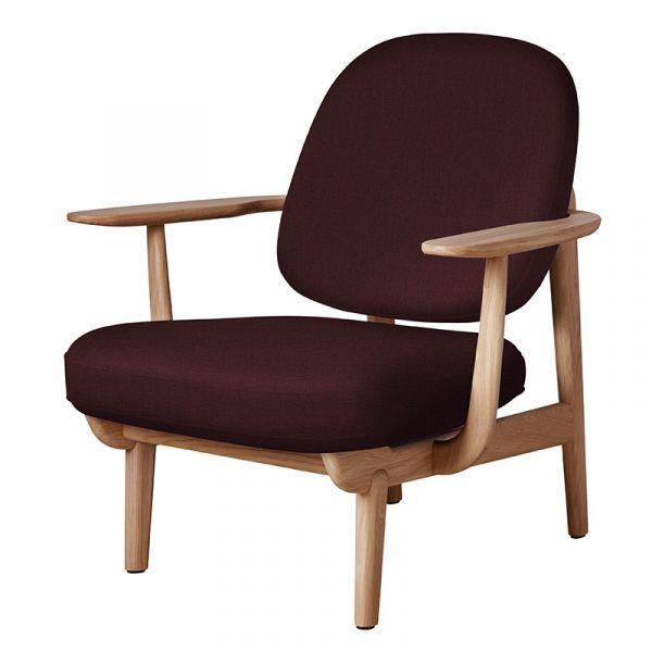 Fritz Hansen JH97 Fred Lounge Chair Oiled Oak