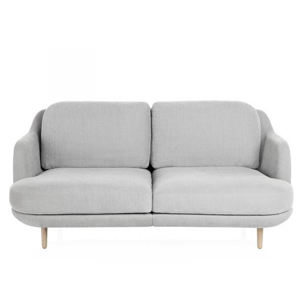 Fritz Hansen JH200 Lune 2 Seat Sofa