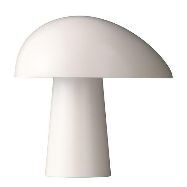Fritz Hansen Night Owl Table Lamp Smokey White