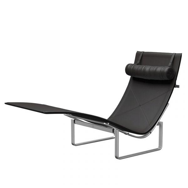 Fritz Hansen PK24 Chaise Longue Leather
