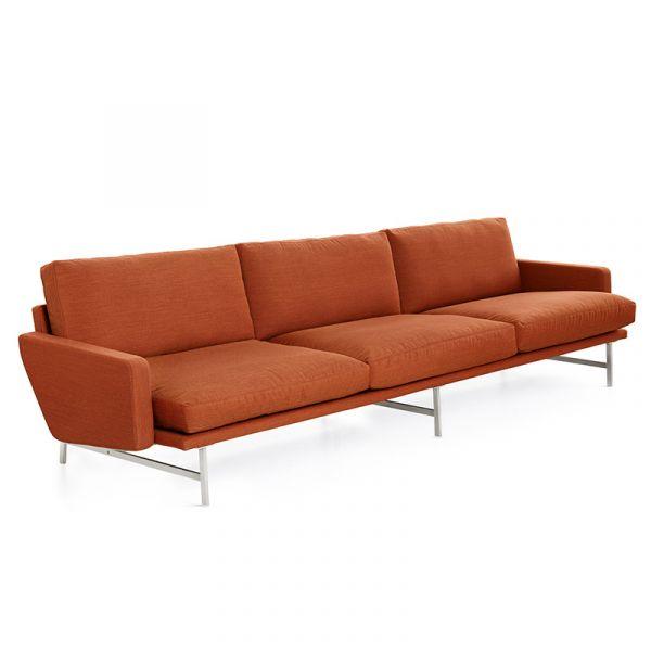 Fritz Hansen PL113 Lissoni 3 Seat Sofa