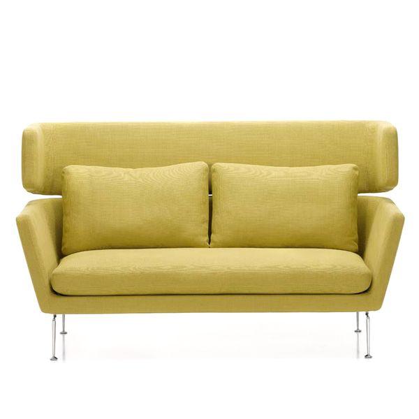 Vitra Suita Sofa 2-Seater Classic Cushions High Back
