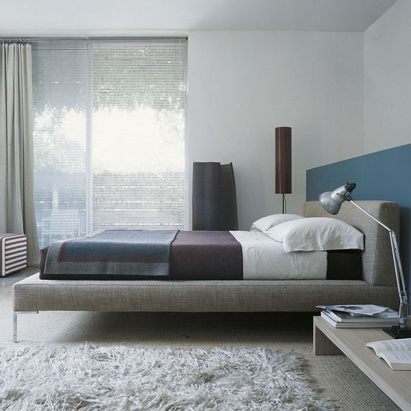 B&B Italia LC180 Charles Bed (for 180x200cm mattress) Super King