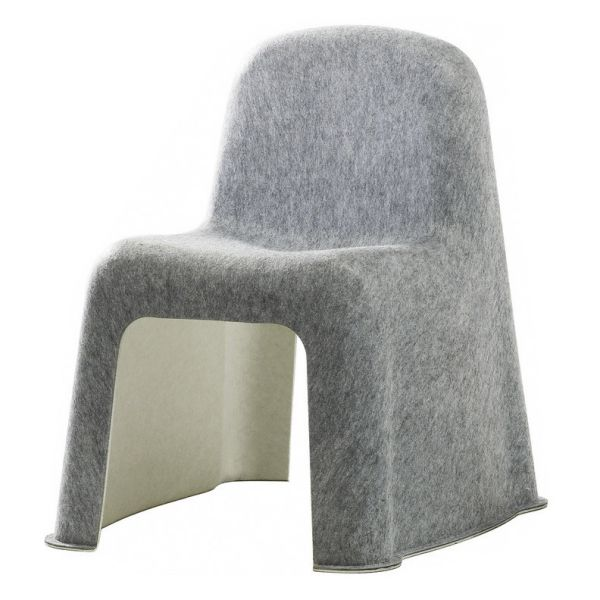 Hay Nobody Chair Light Grey/Off White