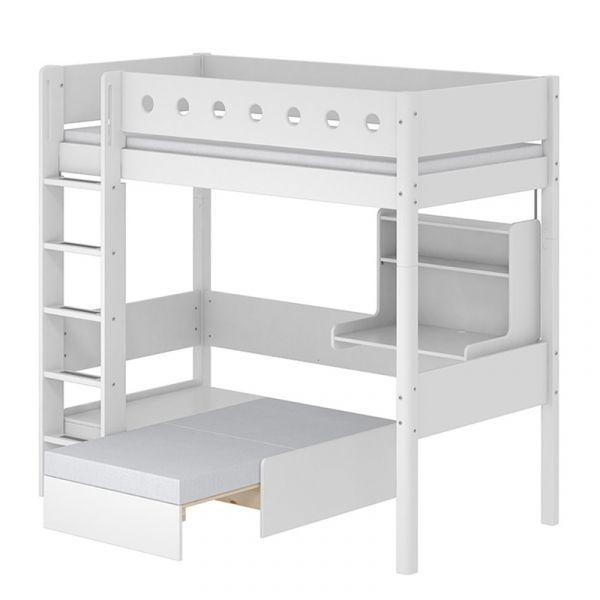 Flexa White Casa High Bed