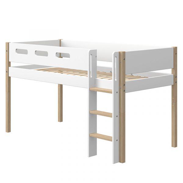 Flexa Nor Mid-High Bed Straight Ladder