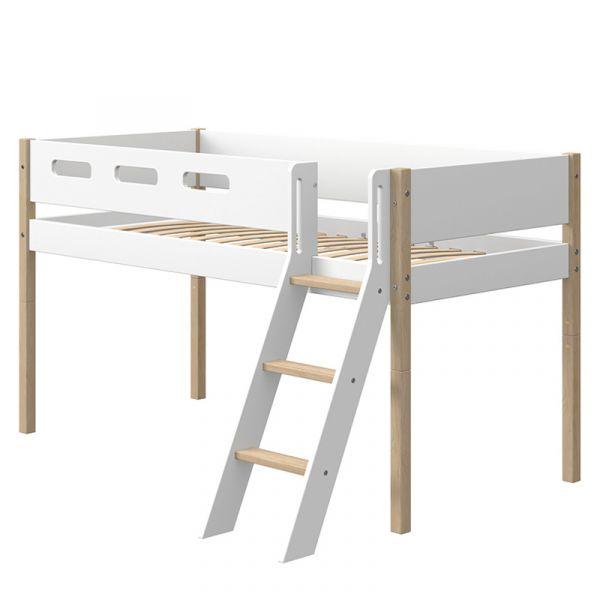 Flexa Nor Mid-High Bed Slanting Ladder