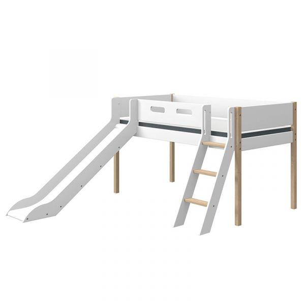 Flexa Nor Mid-High Bed Slanting Ladder & Slide