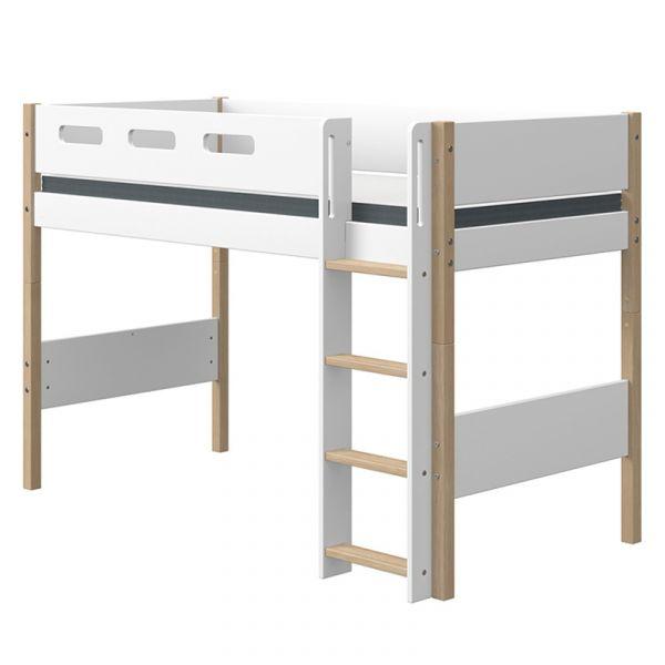 Flexa Nor Semi-High Bed Straight Ladder