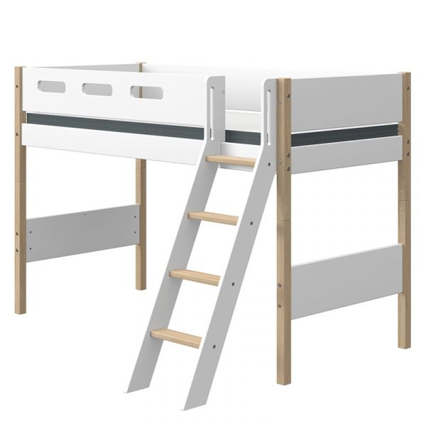 Flexa Nor Semi-High Bed Slanting Ladder
