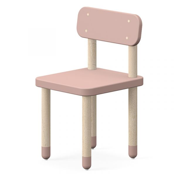Flexa Dots Chair Light Rose