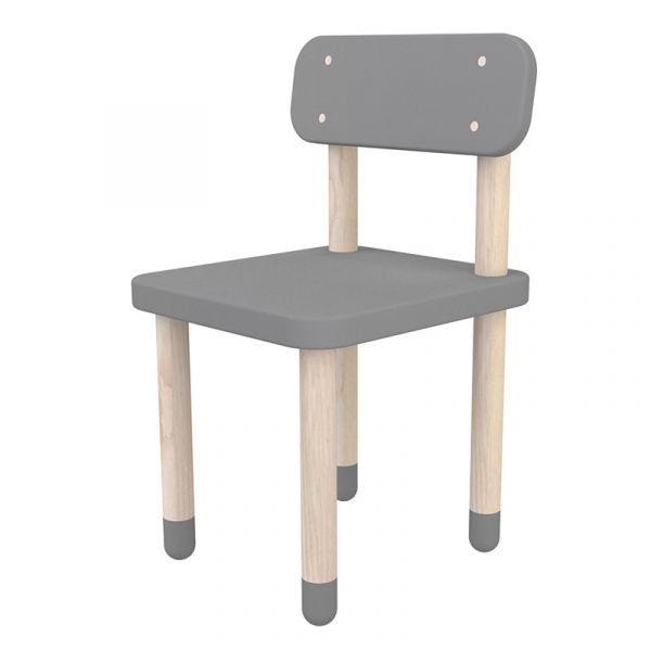 Flexa Dots Chair Urban Grey