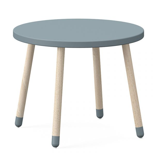 Flexa Dots Table Ash Light Blue