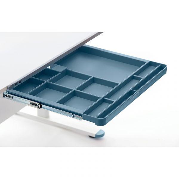 Flexa Evo Plastic Drawer Frosty Blue