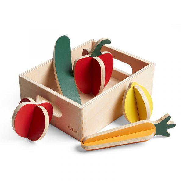 Flexa Play Vegetables Set