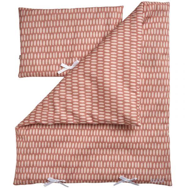 Flexa Play Doll Bed Duvet & Pillow Set Pink