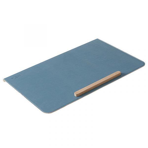 Flexa Desk Pad In Metal Frosty Blue