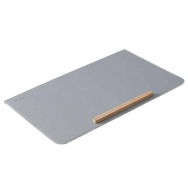 Flexa Desk Pad In Metal Dark Grey