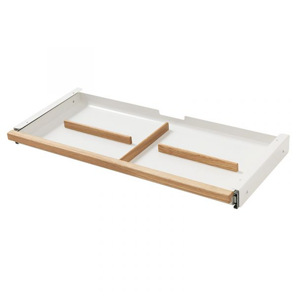 Flexa Moby Metal Draw With Wooden Front