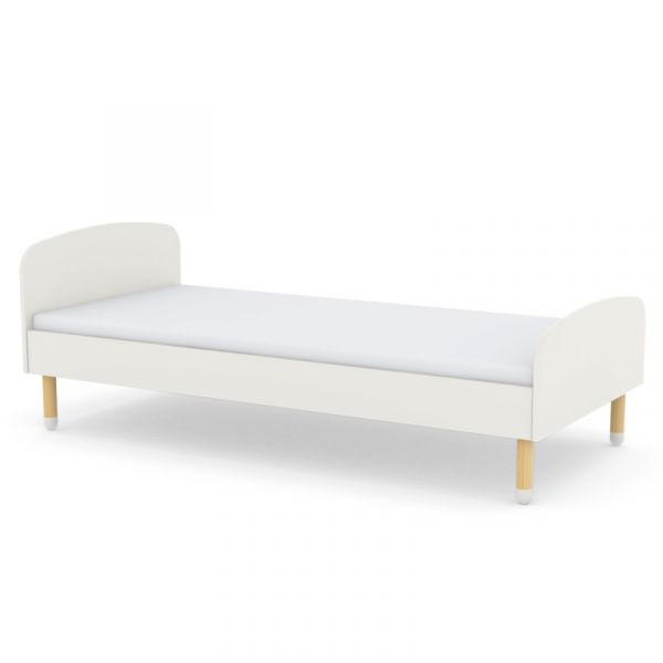 Flexa Dots Single Bed White
