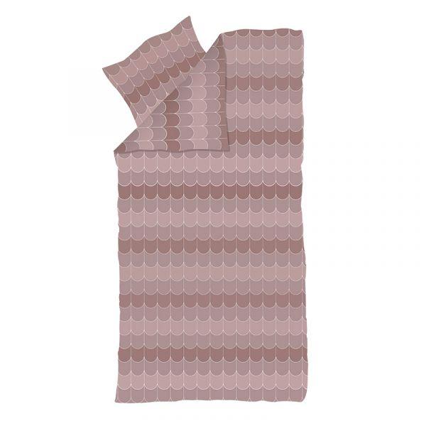 Flexa Popsicle Single Bed Linen 100% Satin Cotton Cherry