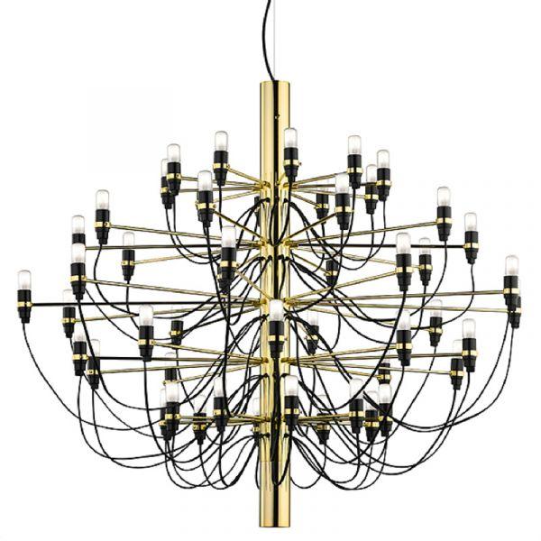 Flos 2097/50 Chandelier Suspension Light Brass