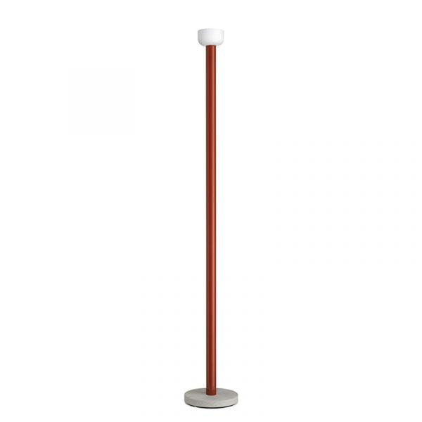 Flos Bellhop Floor Lamp Brick Red