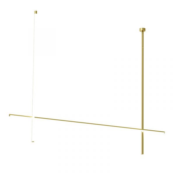 Flos Coordinates C2 CL III Ceiling Light Anodized Champagne