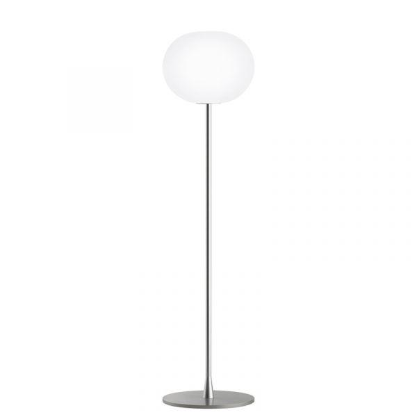 Flos Glo-Ball F1 Floor Lamp Silver
