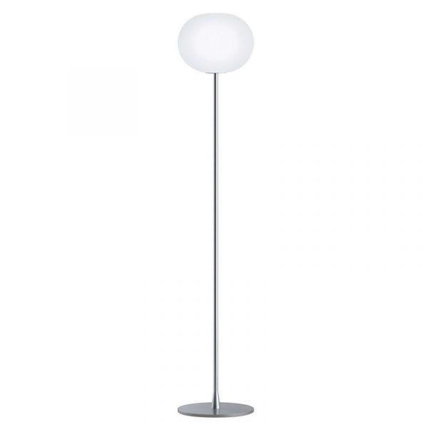 Flos Glo-Ball F2 Floor Lamp Silver