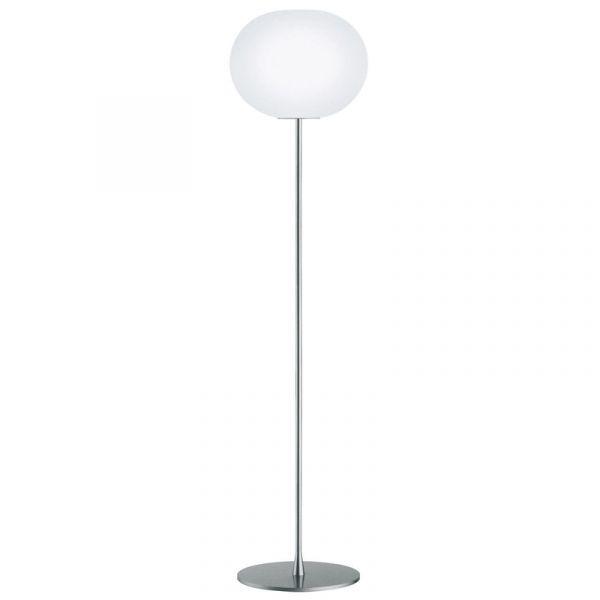 Flos Glo-Ball F3 Floor Lamp Silver