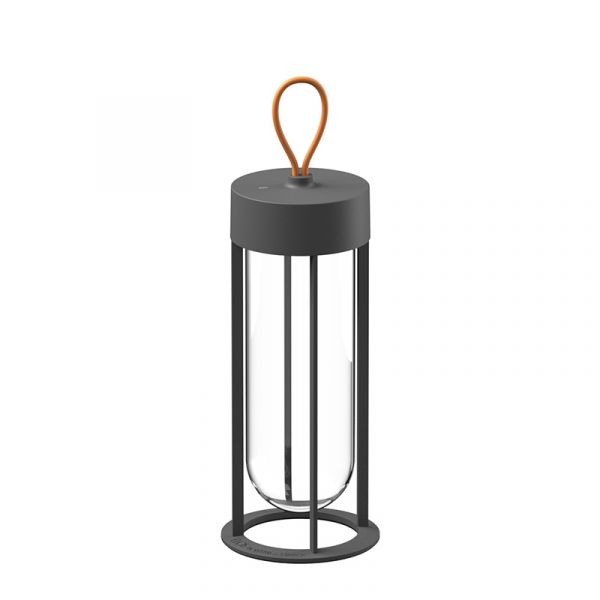 Flos In Vitro Unplugged Outdoor Light 3000k Anthracite