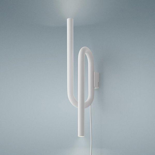 Foscarini Tobia Wall Lamp With Plug White