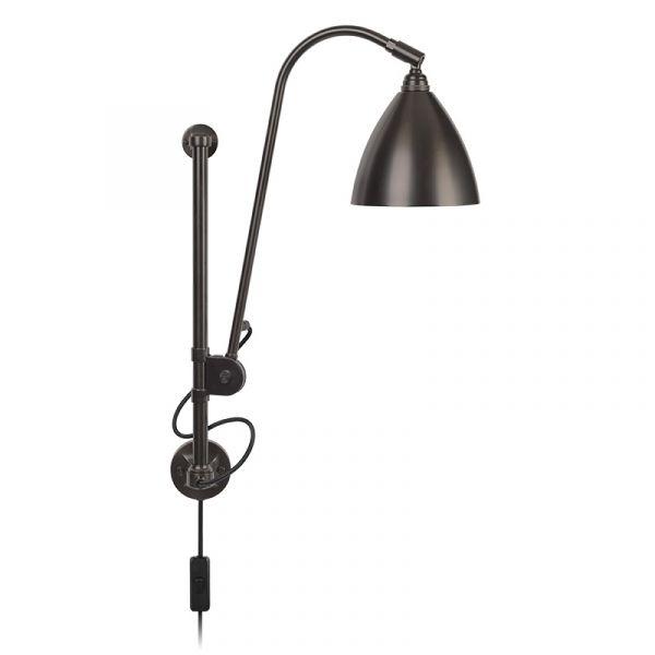 Gubi Bestlite BL5 Wall Lamp Black Brass