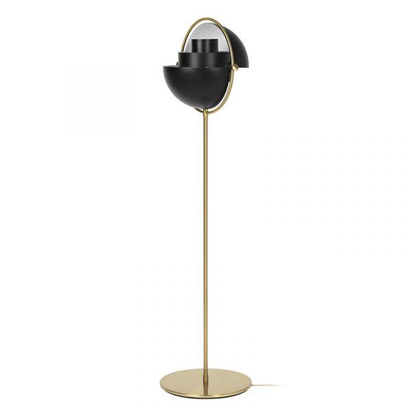 Gubi Multi-Lite Floor Lamp Brass