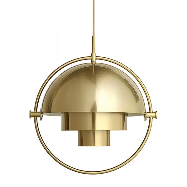 Gubi Multi-Lite Pendant Brass