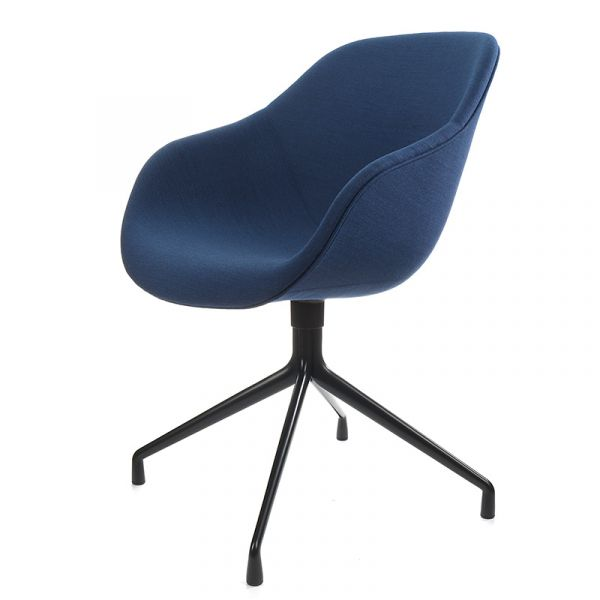 Hay AAC 121 About A Chair Black Aluminium Base Remix 866 Fabric