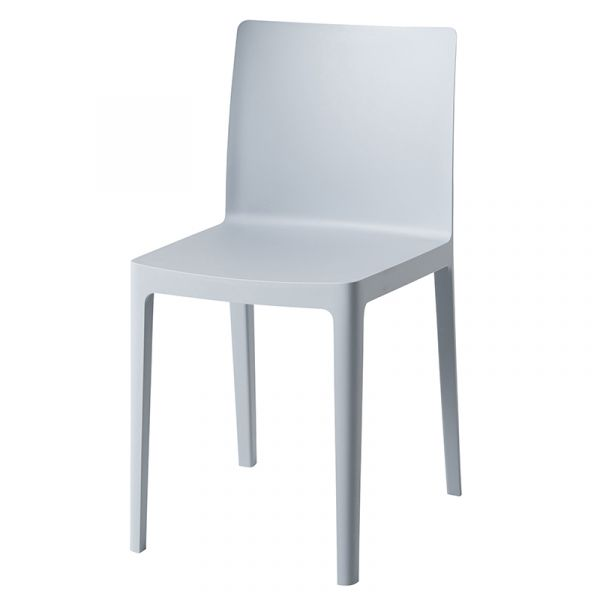 Hay Elementaire Dining Chair Blue Grey