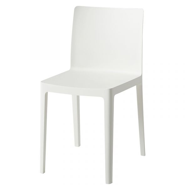 Hay Elementaire Dining Chair Cream White