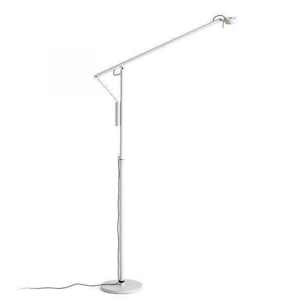 Hay Fifty-Fifty Floor Lamp Ash Grey