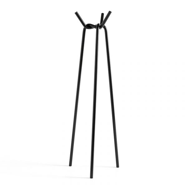 Hay Knit Coat Stand Black Powder Coated Steel
