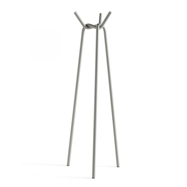 Hay Knit Coat Stand Grey Powder Coated Steel