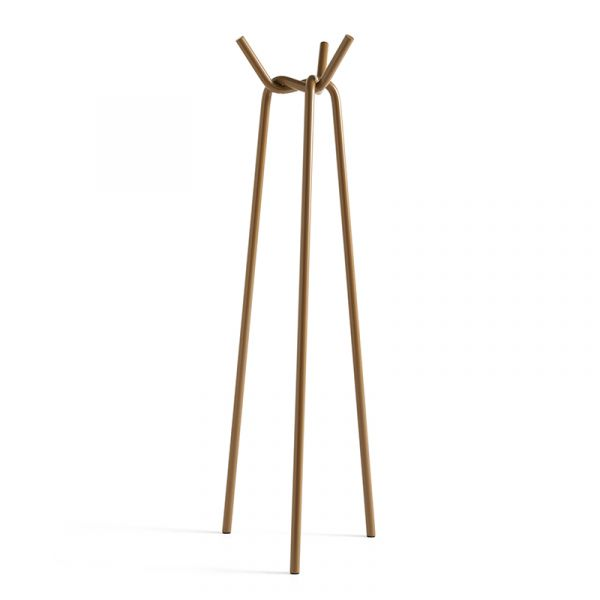 Hay Knit Coat Stand Toffee Powder Coated Steel