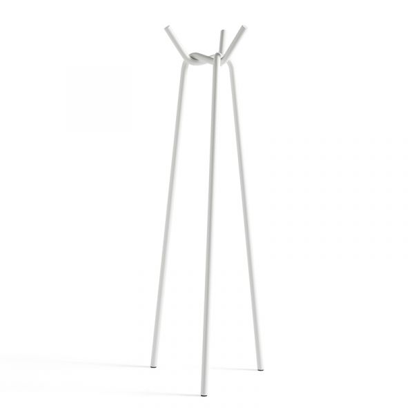 Hay Knit Coat Stand White Powder Coated Steel